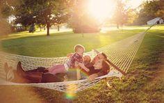 Gotta love a hammock!