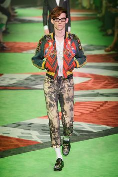 Gucci, menswear SS17 #eyewear