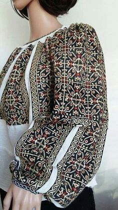 Ukraine, ♥ , from Iryna Folk Fashion, Ethnic Fashion, Folk Costume, Medieval Costume, Bohemian Costume, Coral Fashion, Ukrainian Dress, Embroidered Clothes, Dress Images