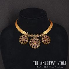 Looking for traditional temple jewellery sets to shop? Silver Jewellery Indian, Gold Jewellery Design, Temple Jewellery, Silver Jewelry, Silver Earrings, Antique Jewellery, Silver Necklaces, Silver Ring, Jewellery Sale