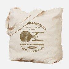 enterprise-a-shipyards-worn-for-dark Tote Bag for