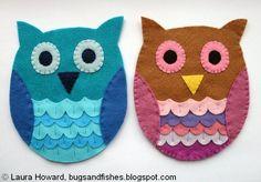 How To: Felt Owl