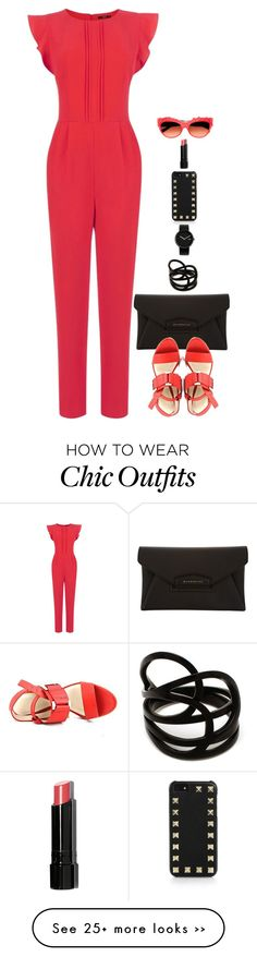 """""""Jumpsuit Chic"""" by miki006 on Polyvore"""