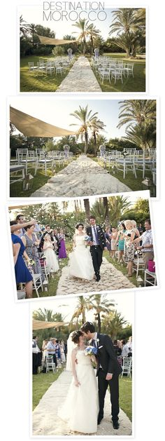 perfect small outdoor wedding
