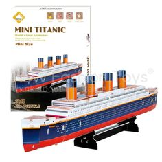 Educational 3D Model Movie Titanic Ship DIY Toy 30 Pcs $5.59http://www.aliexpress.com/store/product/font-b-Educational-b-font-3D-Model-Movie-Titanic-Ship-DIY-Toy-30-Pcs/1336098_1995586778.html