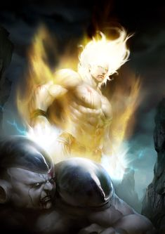 Frieza vs. Goku by Wang Xin — GeekTyrant
