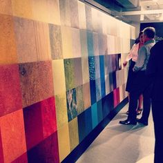 #neocon2013 flooring by Forbo