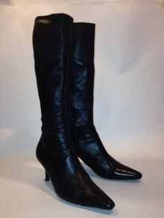 Prada Knee Black Boots $169