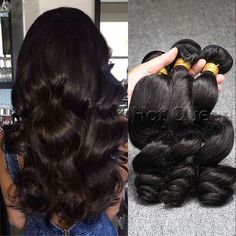 To check the quality as virgin hair, the extensions cannot be dyed or permed. #Brazilian #human #hair..http://goo.gl/huwOC8