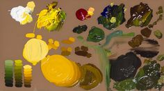 Jerry Yarnell teaches color mixing w/color wheel min episode) Oil Painting Lessons, Oil Painting Supplies, Acrylic Painting Techniques, Painting Videos, Painting & Drawing, Mixing Paint Colors, Color Mixing, Bd Art, Guache