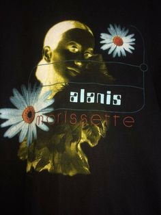 Alanis Morissette 1996 Concert Tour Vintage T-shirt Size XL Room Posters, Movie Posters, Alanis Morissette, Rock Tees, 90s Aesthetic, Dear Diary, Wall Collage, Flyers, Alternative