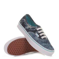 Vans Authentic shoes - Acid Denim Blue. £55