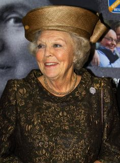 Princess Beatrix For the anniversary of the Dutch Cancer Society in Amsterdam Princess Beatrice, Royal Princess, Dutch Queen, Queen Hat, Kingdom Of The Netherlands, 65th Anniversary, Royal Crowns, October 31, Royal Jewelry