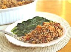 Vegan Pelau (West Indian-spiced rice with sweet potatoes and pigeon peas!)