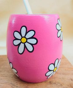 Bottle Painting, Bottle Art, Temple Design For Home, Craft Desk, Painted Pots, Cat Furniture, Pottery Art, Flower Pots, Projects To Try