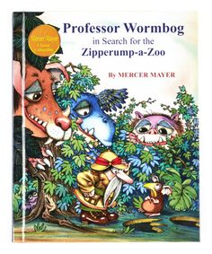 Love this Professor Wormbog in Search for the Zipperump-a-Zoo Hardcover on #zulily! #zulilyfinds