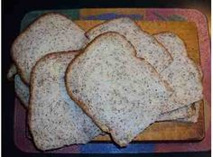 Kerrie's Chia Bread - a nourishing bread and a very satisfying recipe to make at home. The chia seeds provide great protein and fibre.