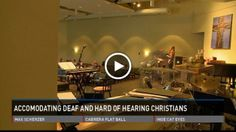 Bringing deaf Christians back to the church