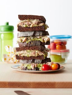 Back to School Recipe: California-Style Tuna Sandwich