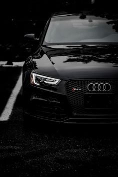 Blacked out Audi RS5 #petrolified