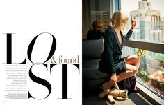 Editorial design JAN Magazine 9-2012 fashion