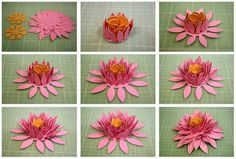 Bits of Paper: 3D Paper Flowers, Day Three!