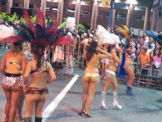 la carnival Montevideo, Uruguay