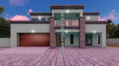 4 Bedroom House Plan - My Building Plans South Africa
