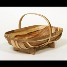 Traditional Garden Trug Basket (Large) I want one of these!