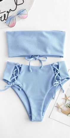 Cute baby blue bikini swimsuit for this summer For more information visit https: // fashi Bathing Suits Baby Bikini BLUE Cute Fashi https information summer Swimsuit Visit Bathing Suits For Teens, Summer Bathing Suits, Cute Bathing Suits, Summer Swimwear, Cute Bikinis, Cute Swimsuits, Women Swimsuits, Teen Bikinis, Vintage Swimsuits