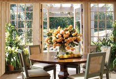 Surrounded by rosebushes, hydrangeas and dahlias, Oprah's teahouse is the one place she can go to get away from it all.    Read more: http://www.oprah.com/home/Oprahs-Teahouse/4#ixzz1szDcKZJ1