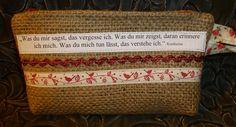 Haben wollen? Mailt mir an  info@vansten-design.de, vielleicht isses noch da...!!!:-) Kosmetikmäppchen, Stiftemäpppchen