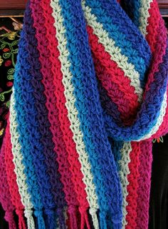 Starpath Scarf By Vashti Braha - Purchased  Crochet Pattern - (ravelry)