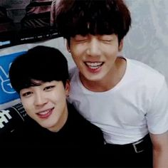 jungkook could pass for 25 and jimin could pass for 12.