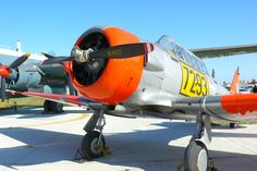 South African Air Force Historic Flight Ysterplaat Cape Town South Africa North American T-6 Texan/Harvard trainercan Harvard