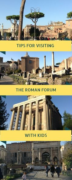 All you need to know to plan the perfect visit to the Roman forum with a baby or toddler: is the Roman forum accessible to buggies and strollers, what are the best tours, is it fun with kids? Find answers to these and more questions with top tips for families visiting the Roman forum with kids