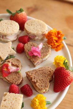 Mother's Day Tea Sandwiches RECIPE - Creating tea sandwiches is all about being dainty. You want to create something small & pretty . Of course, it also needs to taste good :) / The Columbian