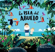 The colourful cover of this perfect picture book drew me in, the title intrigued me, and the story mesmerized me. I discovered Grandad's Island on the NEW shelf at my local library, but it is a boo… Chez Laurette, Children's Picture Books, Children's Book Illustration, Book Illustrations, Book Design, New Books, Childrens Books, Illustrators, Grandparents