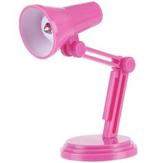 mini Desk Lamp Pink kids Stationery
