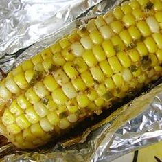 This is the best corn recipe ever!!!    http://allrecipes.com/recipe/tasty-bbq-corn-on-the-cob/detail.aspx