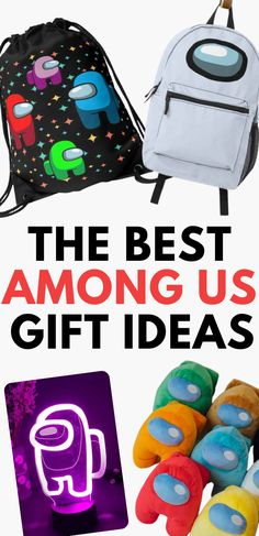 Best Among Us gifts for Among Us gamers. They'll love this selection of Among Us merchandise and Among Us themed gifts. See Among Us shirts, Among Us plushies, Among Us decor, and Among Us figures. Epic Among Us merch for kids, tweens, teens and adults. Kids Birthday Presents, 10th Birthday Parties, Birthday Gifts For Sister, 12th Birthday, Boy Birthday, Party Gifts, Diy Gifts, Funny Party Games, Gamer Gifts