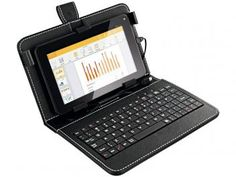 Tablet com Case e Teclado Multilaser - Android, Wi Fi, Tablets, Docking Station, Ipad, Laptop, Phone, 1, Sites