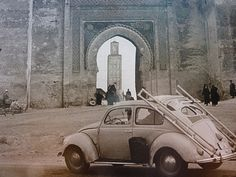 VW Beetle in Marrakech, Morocco by UpSouth, via Flickr