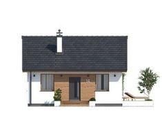 DOM.PL™ - Projekt domu MT Imbir 4 paliwo stałe CE - DOM MS4-69 - gotowy koszt budowy Outdoor Decor, Home Decor, Tiny House Living, Small Houses, Projects, Interior Design, Home Interiors, Decoration Home, Interior Decorating