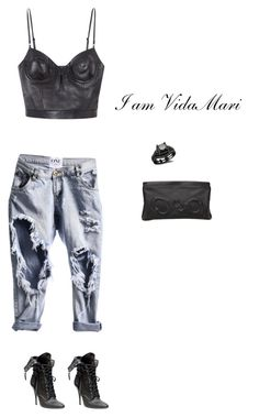 Street Style #StreetStyle by i-am-vidamari on Polyvore featuring polyvore, mode, style, Alexander Wang and Vlieger & Vandam