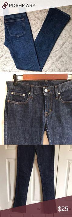 "Ralph Lauren 380 Slim Boot Cut Dark Indigo Jeans Ralph Lauren 380 Slim Boot Cut Dark Indigo Wash Jeans SZ 27. Excellent condition. 30"" Waist, 33"" inseam. Ralph Lauren Jeans Boot Cut"