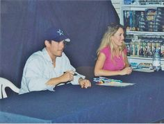 Christian Kane at a signing.. dont know when or who to credit for pic!