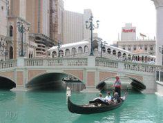 Take a real gondola ride