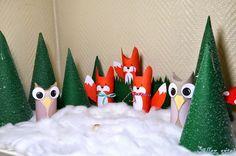 Adventskalender+selber+basteln+machen+Wald+Waldtiere+Klopapierrolle+Adventsdeko+Weihnachtsdeko.JPG (1600×1059)