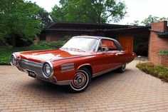 '64 Chrysler Ghia Turbine Car